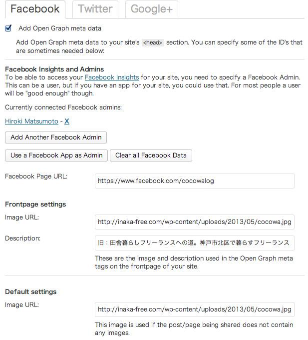 WordPress SEO Facebook